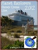 Planet Explorers Disney Cruise Line by Planet Explorers: NOOK Book Cover