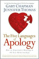 The Five Languages of Apology by Gary Chapman: Book Cover