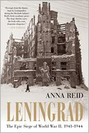 Leningrad by Anna Reid: Book Cover