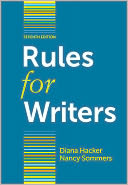 Rules for Writers with Writing about Literature (Tabbed Version) by Diana Hacker: Book Cover