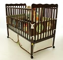 Dream On Me, Classic  2 in 1 Convertible Crib, Espresso by Dream On Me: Product Image