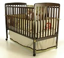 Dream On Me, Bethany 2 in 1 Crib, Espresso by Dream On Me: Product Image