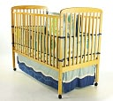 Dream On Me, Bethany 2 in 1 Crib, Natural by Dream On Me: Product Image