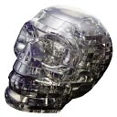 Crystal Puzzles - Skull 48 pc puzzle by University Games: Product Image