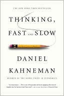 Thinking, Fast and Slow by Daniel Kahneman: NOOK Book Cover