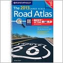 2013 Road Atlas Large Scale by Rand McNally: Book Cover