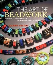 Art of Beadwork: Historic Inspiration, Contemporary Design by Valerie Hector: Book Cover