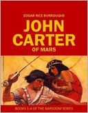 John Carter of Mars by Edgar Rice Burroughs: NOOK Book Cover