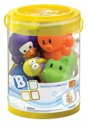 Squirter Combo Bath Toy Set by Blue Box: Product Image