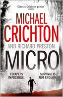 Micro by Michael Crichton: Book Cover