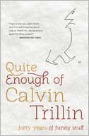 Quite Enough of Calvin Trillin by Calvin Trillin: Book Cover