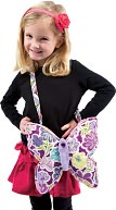 Flower Dance Butterfly 10 inch Purse by Douglas Co.: Product Image
