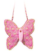 Moon Flower Butterfly 10 inch Purse by Douglas Co.: Product Image