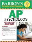 Barron's AP Psychology, 5th Edition by Robert McEntarffer: Book Cover