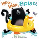 Splish, Splash, Splat! (Splat the Cat Series) by Rob Scotton: NOOK Kids Read to Me Cover