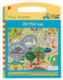 At the Zoo Play Scene by Galison Books: Product Image