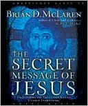 The Secret Message of Jesus by Brian D. McLaren: CD Audiobook Cover