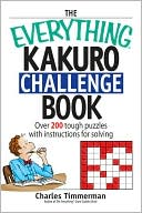 The Everything Kakuro Challenge Book by Charles Timmerman: Book Cover