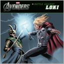 Battle Against Loki (The Avengers) by Tomas Palacios: NOOK Kids Cover
