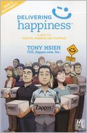 Delivering Happiness - A Round Table Comic by Tony Hsieh: Book Cover