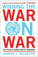 Winning the War on War by Joshua S. Goldstein: Book Cover