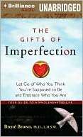 The Gifts of Imperfection by Brene Brown: Audiobook Cover