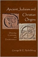download Ancient Judaism And Christian Origins book