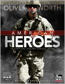 American Heroes by Oliver North: NOOK Book Cover