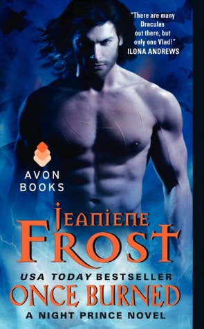 Review…Once Burned (Night Prince #1) by Jeaniene Frost