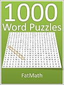 1000 Word Puzzles by FatMath: NOOK Book Cover