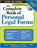 download Complete Book of Personal Legal Forms with CD, 3E book