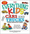 The Everything Kids' Cars And Trucks Puzzle And Activity Book by Charles Timmerman: Book Cover
