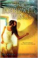 The Girl With Borrowed Wings by Rinsai Rossetti: Book Cover