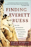 Finding Everett Ruess by David Roberts: Book Cover