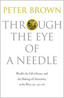 Through the Eye of a Needle by Peter Brown: Book Cover