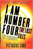 I Am Number Four by Pittacus Lore: Book Cover