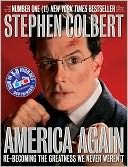 America Again by Stephen Colbert: Book Cover