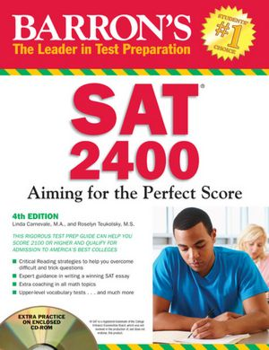 Barron's SAT 2400 with CD-ROM, 4th Edition