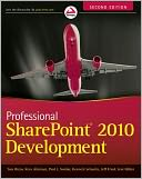Professional SharePoint 2010 Development by Thomas Rizzo: NOOK Book Cover