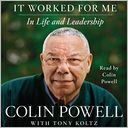 It Worked for Me by Colin Powell: Audio Book Cover