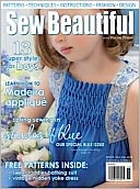 Sew Beautiful - One Year Subscription: Magazine Cover