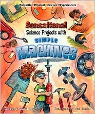 Sensational Science Projects with Simple Machines by Robert Gardner: Book Cover