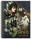 The Lord of the Rings Spiral Sketchbook by Meadwestco: Product Image