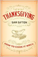 Thanksgiving by Sam Sifton: Book Cover