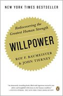 Willpower by Roy F. Baumeister: Book Cover