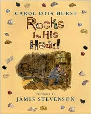 Rocks in His Head by Carol Otis Hurst: Book Cover