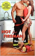 Hot for Fireman (Bachelor Firemen Series) by Jennifer Bernard: NOOK Book Cover