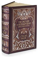 The Picture of Dorian Gray and Other Works (Barnes &amp; Noble Leatherbound Classics) by Oscar Wilde: Book Cover