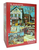 H. Hargrove Going to Grandma's for Thanksgiving 1000 Piece Puzzle by Andrews &amp; Blaine: Product Image