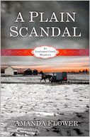 A Plain Scandal by Amanda Flower: Book Cover
